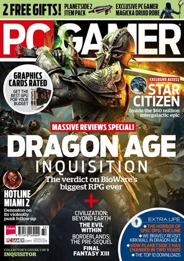 PC Gamer omslag