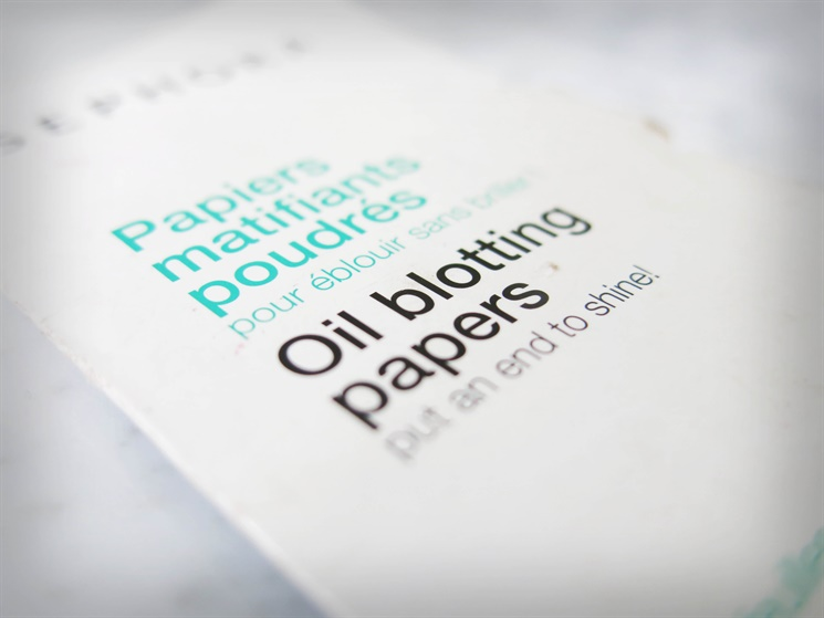 oil blotting papers sephora