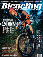 Bicycling omslag
