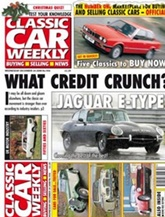 Classic Car Weekly omslag