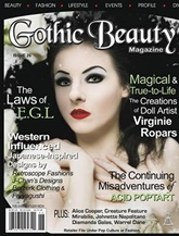 Gothic Beauty Magazine omslag