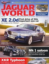 Jaguar World Monthly omslag
