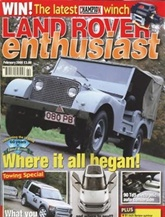 Land Rover Enthusiast omslag
